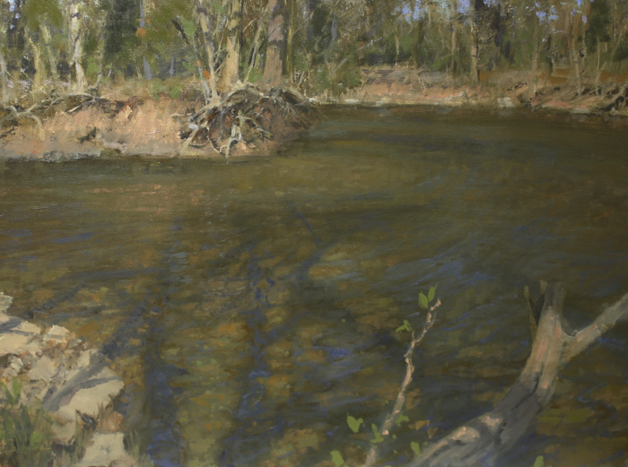 Along the Harpeth 30x40, oil