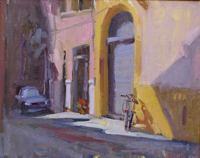 Mystery in Lucca, 16x20, oil