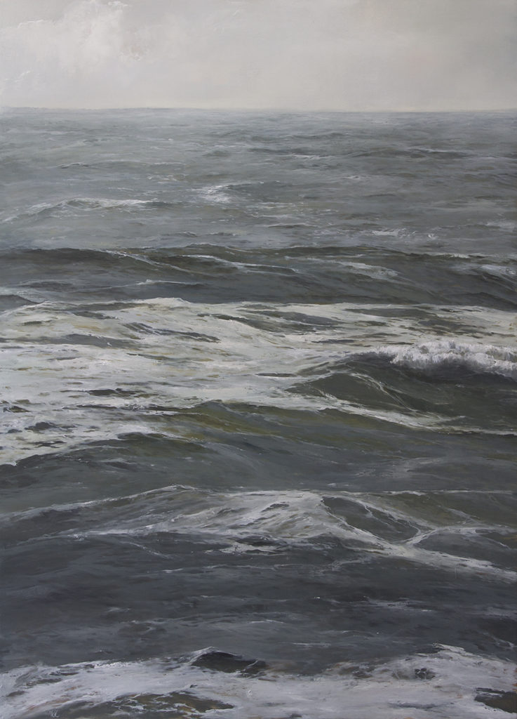 The Under Current, 50x36, oil on panel