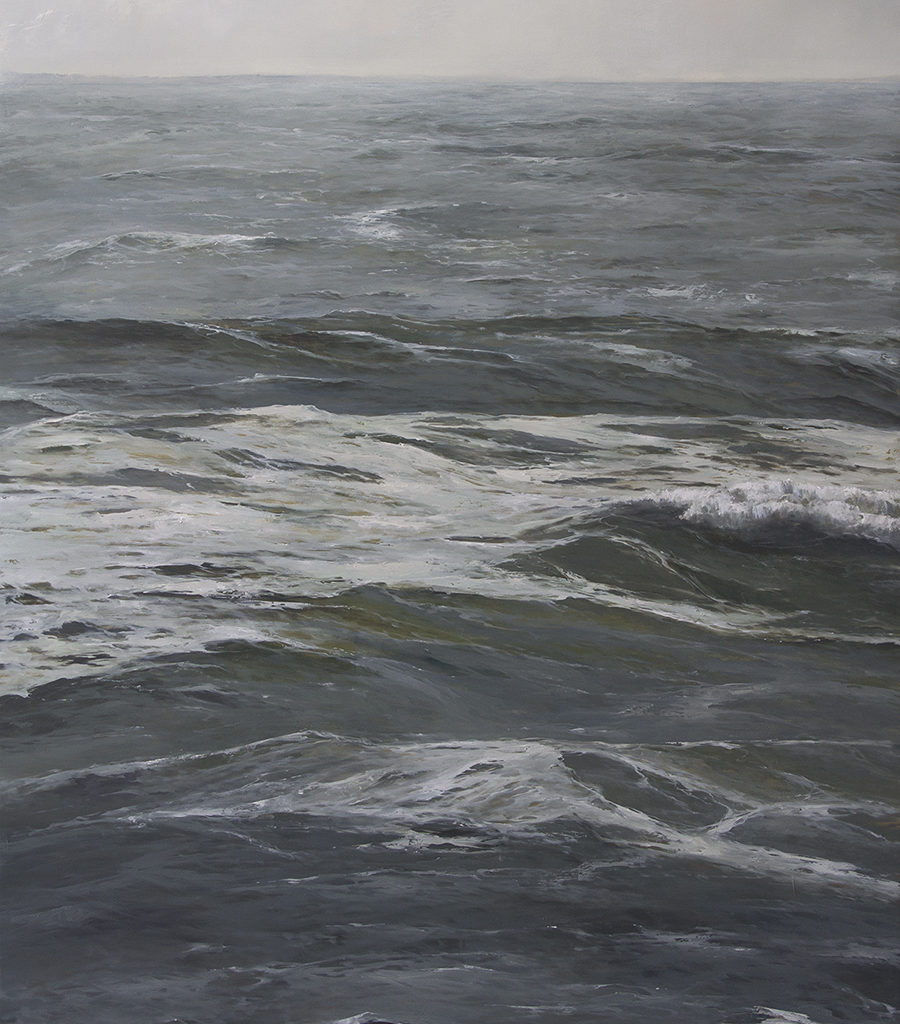 SOLD - The Under Current, 50x36, oil on panel