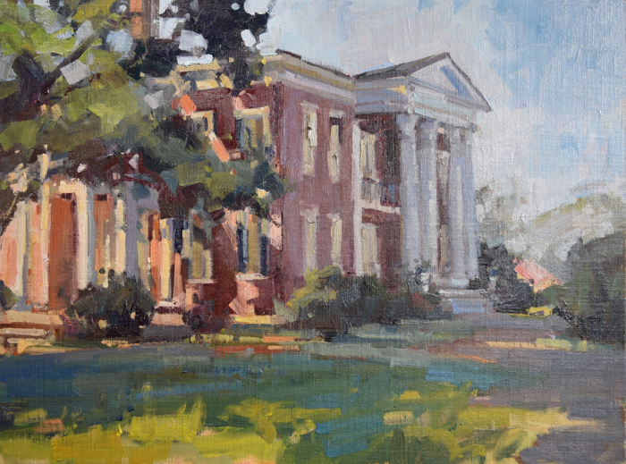 Rippavilla Plantation, 12x16, oil