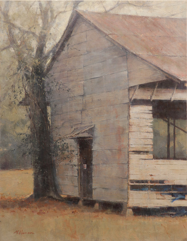 SOLD-Dockery Farm, 27x21, oil