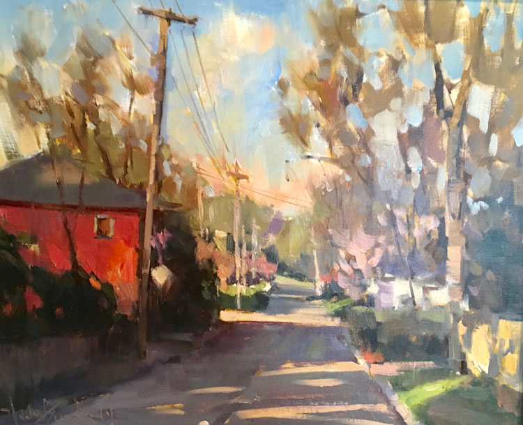 "Bill Of Sale Example >> ""On the Porch"" Sale with the Plein Air Painters of the ..."