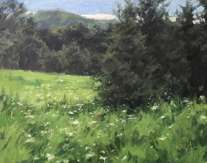 Tennessee Wildflowers, 16x20, oil