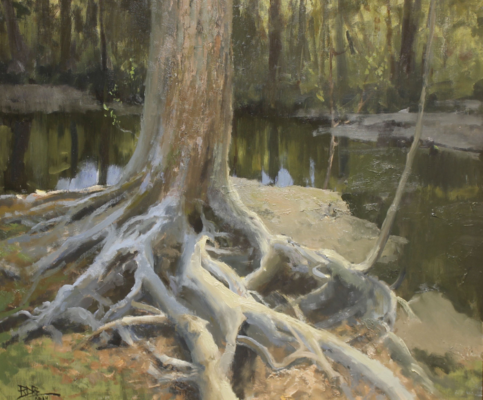 SOLD - Deep Roots, 30x36, oil