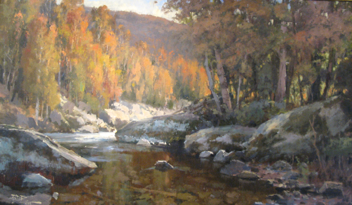 SOLD - Autumn In The Mountains, 36x60, oil
