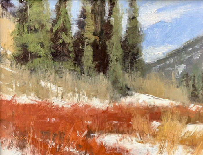 SOLD - Colorado Day, 11x14, oil