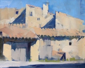 SOLD - Garages Bassacs, 10x13, oil