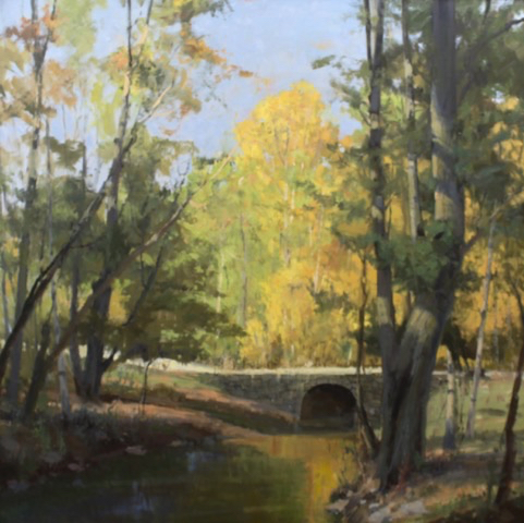 SOLD - Changes of Autumn, 50x50, oil
