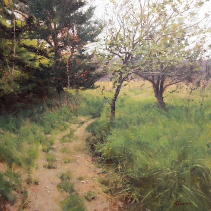 SOLD - Orchard's Ago, 24x24, oil