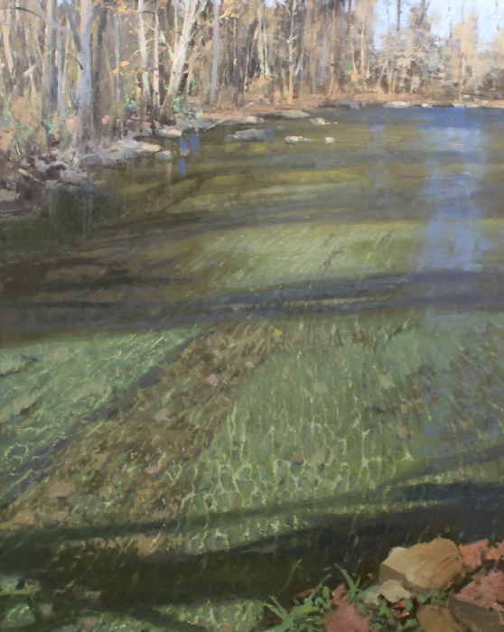 SOLD - Shallow Creek, 50x40, oil