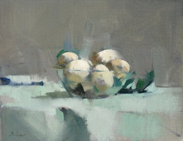 Mushrooms, 10x13, oil