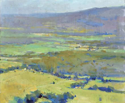 SOLD - Monteagle Overlook, 20x24, oil