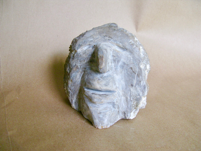 Happy Man, 5.5x5x5.5, stromatolite