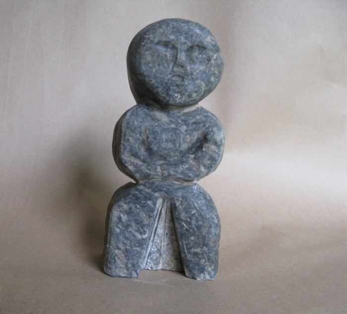 Little Boy, 9 1/4x4x4, granite