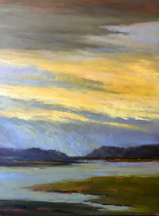 SOLD - Clearing The Air, 48x36, oil
