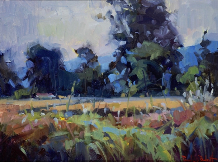 Colors of Giverny, 12x16, oil
