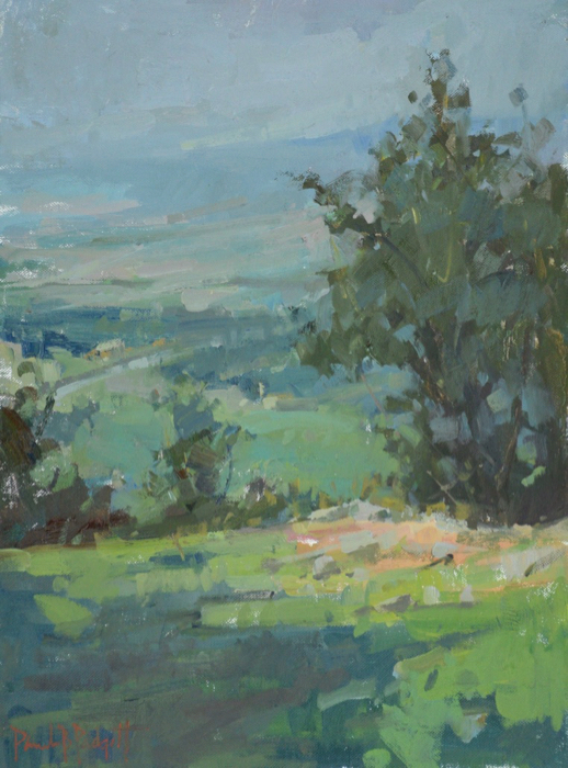 SOLD - Vista From Monteagle, 12x16, oil