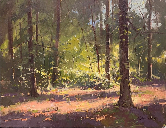 Under the Canopy, 14x18, oil
