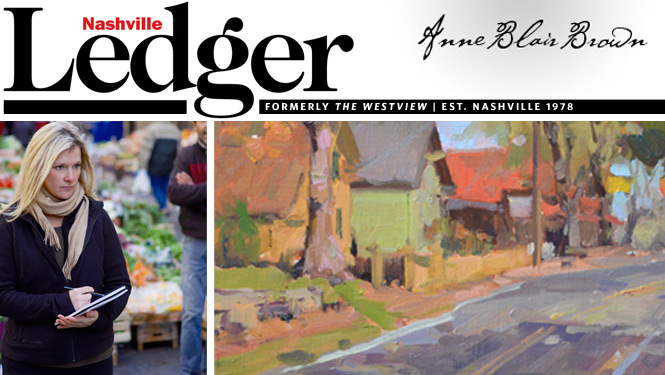 Nashville Ledger Interviews Anne Blair Brown