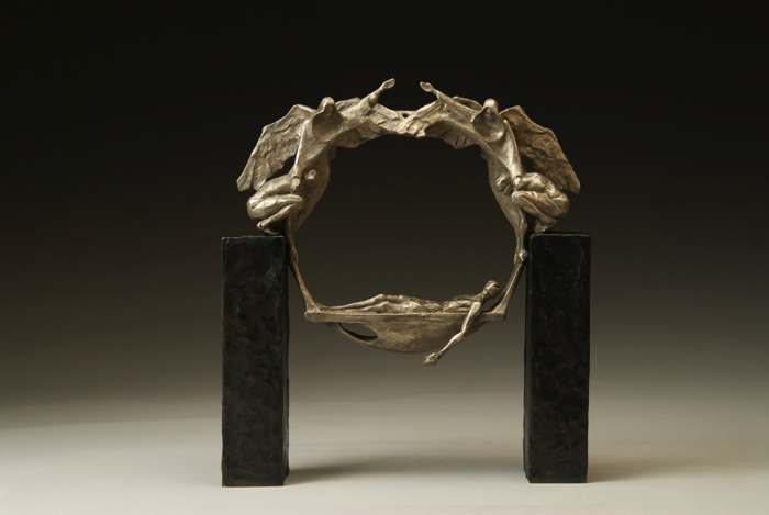 Faith and Resolve, bronze, Limited Ed of 25