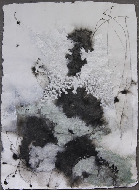 Might We Linger  II- 30x22- ink, acrylic, powdered graphite-2015