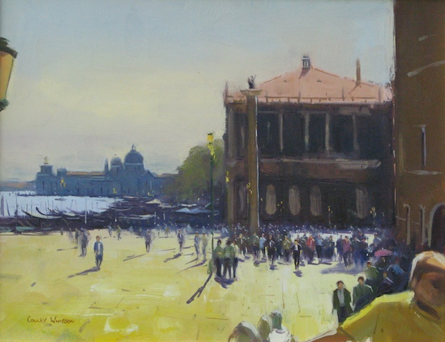 Near St. Mark's Square, Venice • 14x18, oil