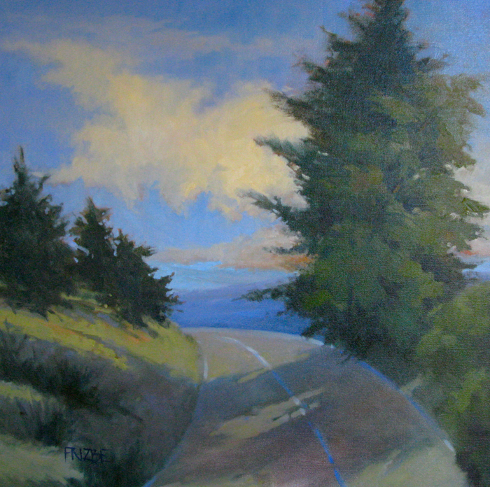 On the Blue Ridge, 30x30, oil
