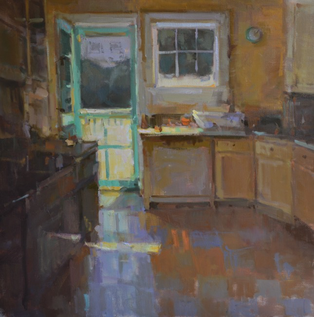 SOLD  - Open Concept, 40x40, oil on linen