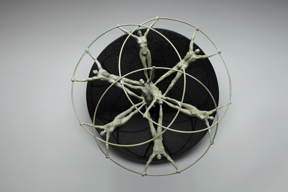 Tree of Life, from the top, Bronze, 14x14x11 1/2, Edition of 12