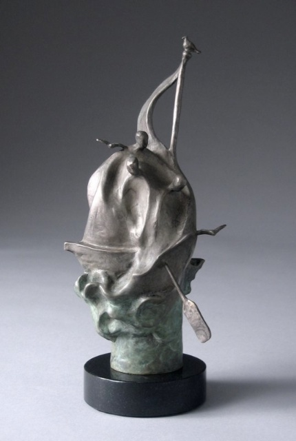 Storms, bronze, Edition of 25