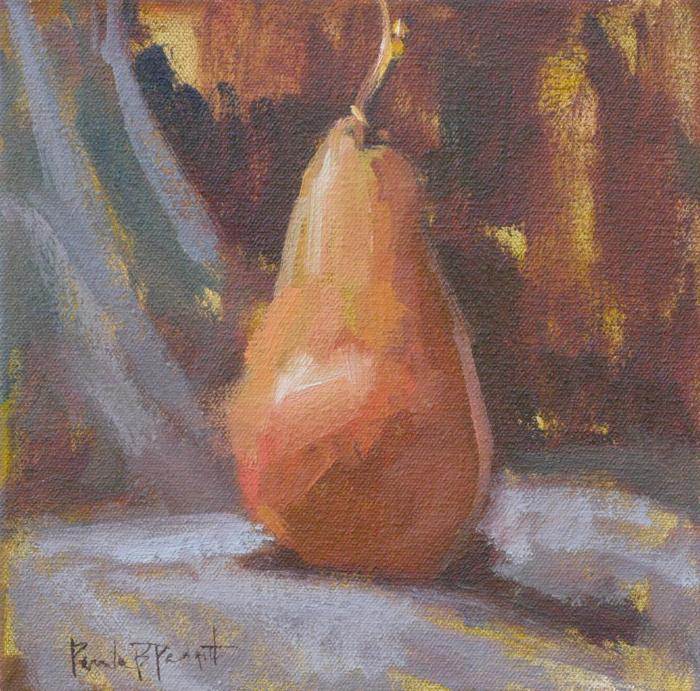 Tall and Thin - Bosc, 8x8, oil
