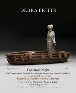 Collector's Night with Paul Polycarpou and Debra Fritts @ Leiper's Creek Gallery | Franklin | Tennessee | United States