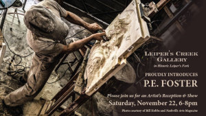 P.E. Foster | Artist's Reception & Show @ Leiper's Creek Gallery | Franklin | Tennessee | United States