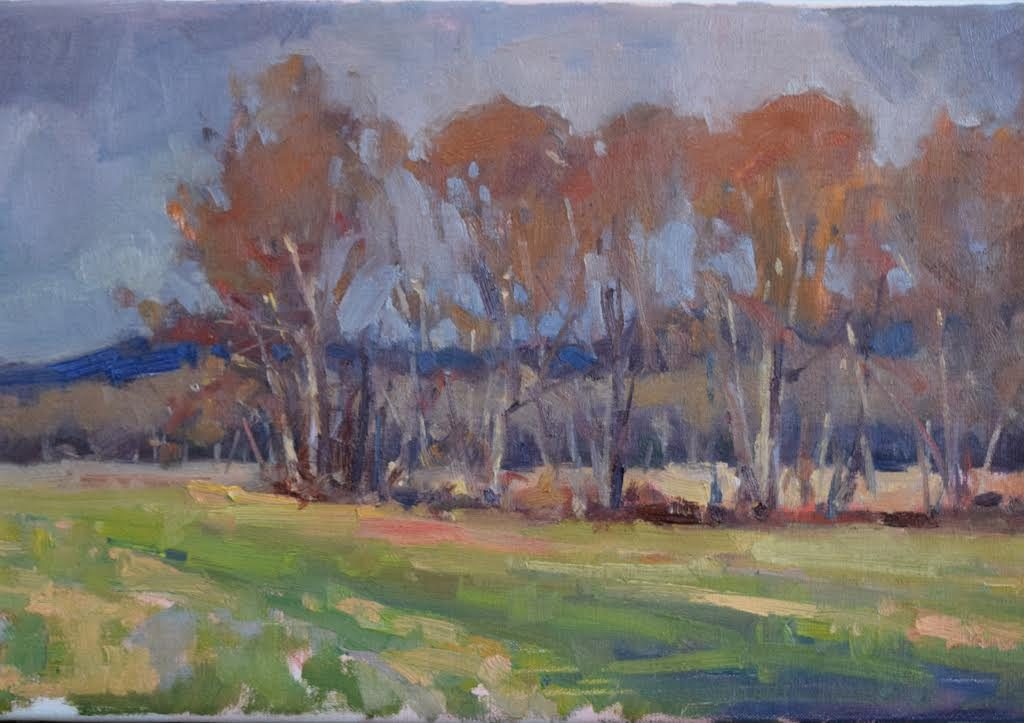 SOLD - Breath of Autumn, 12x24, oil